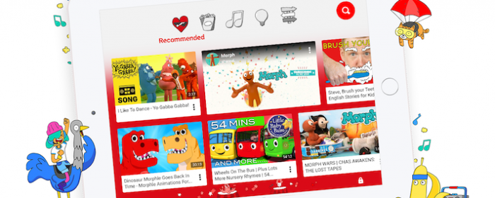 Help your children learn English with Youtube Kids