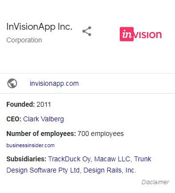 Invision Corp